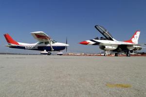CAP Plane_w_F-16_T-Bird
